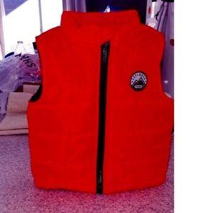 NEW Kids Bright Orange Vest 12mo